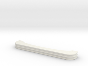 1:87 Crown Bumper in White Natural Versatile Plastic