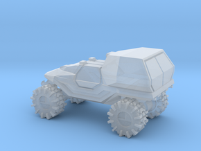 All-Terrain Vehicle with enclosed cargo area in Smooth Fine Detail Plastic