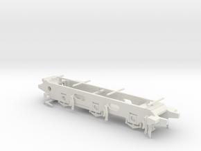 LB&SCR E2  - P4 Chassis in White Natural Versatile Plastic