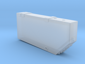 WR0001 Angled Corner Waste Retention Tank 1/87.1 in Smoothest Fine Detail Plastic