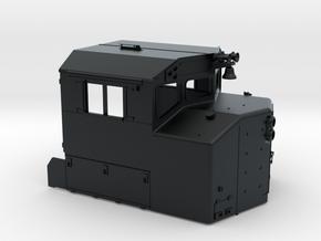 """CB0006 CN GP40-2LW AS BUILT """"B"""" 1/87.1 in Black Hi-Def Acrylate"""
