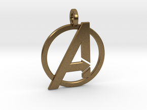Avengers Keychain in Natural Bronze