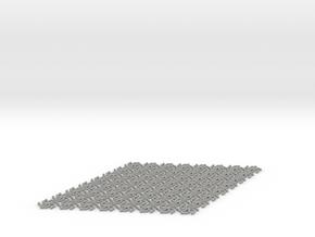 Hex Mat in Aluminum