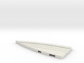P-165stw-y-junction-curve-250r-part1-plus-1a in White Natural Versatile Plastic