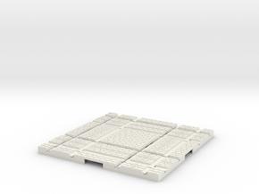 P-165stw-crossing-junction-250r-204r-plus-1a in White Natural Versatile Plastic