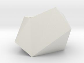 Poly Plant L in White Natural Versatile Plastic