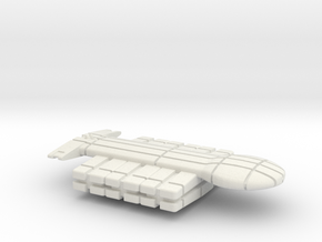 Freighter Type 1 in White Natural Versatile Plastic