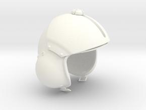1.7 CASQUE PILOTE COBRA (PART 2) in White Processed Versatile Plastic