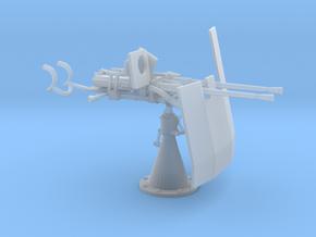 1/20 DKM Double 20mm C/30 Flak w. Shield in Smooth Fine Detail Plastic