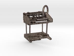 Wersi Helios W2T Organ in Polished Bronzed Silver Steel