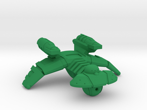 Ramoran K'ruger Class Raptor - 1:7000 in Green Processed Versatile Plastic