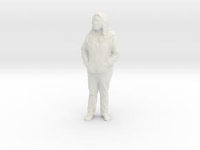 Printle C Femme 703 - 1/24 - wob in White Natural Versatile Plastic