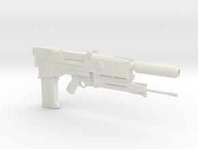 Terminator Plasma Rifle 1.6 Scaled in White Natural Versatile Plastic