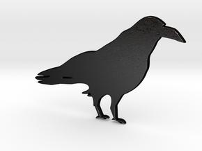 Crow for Henry Morgan in Matte Black Steel