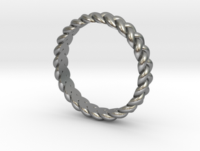 ring pigtail in Natural Silver: 10.25 / 62.125