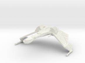 1/2500 QuD Frigate - Attack mode (oversized detail in White Natural Versatile Plastic
