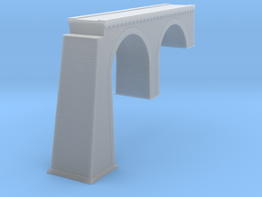 Chrzpsko Arch Bridge New Version Z Scale in Smooth Fine Detail Plastic