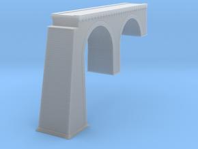 Chrzpsko Arch Bridge New Version Z Scale in Smooth Fine Detail Plastic