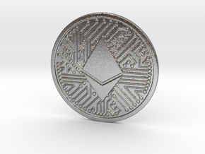 Ethereum (2.25 Inches) in Natural Silver