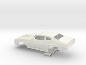 1/18 Pro Mod Maverick W Large Cowl in White Natural Versatile Plastic