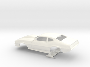 1/32 Pro Mod Maverick W Large Cowl in White Processed Versatile Plastic