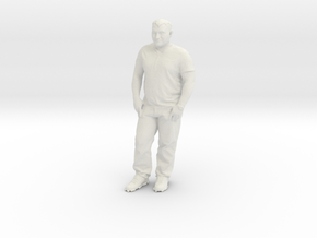 Printle C Homme 749 - 1/24 - wob in White Natural Versatile Plastic