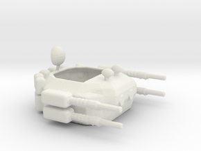AAT1 AntiAirTurret1 in White Natural Versatile Plastic