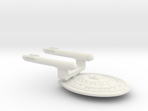 TOS Light Cruiser in White Natural Versatile Plastic