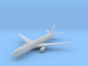 777-300 w/Gear (FUD) in Smooth Fine Detail Plastic: 1:700