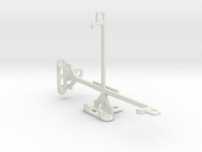 LG Optimus Vu II tripod & stabilizer mount in White Natural Versatile Plastic
