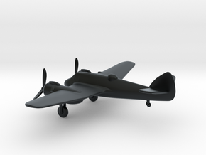 Bristol Type 156 Beaufighter in Black Hi-Def Acrylate: 1:144