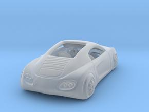 Audi Concept Car  1:120 TT in Smooth Fine Detail Plastic