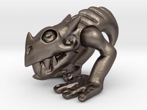 Phlegethon HandWalker Demon in Polished Bronzed Silver Steel