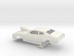 1/16 Pro Mod Maverick W Sm Cowl Scoop in White Natural Versatile Plastic