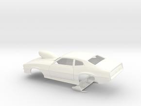 1/32 Pro Mod Maverick W Sm Cowl Scoop in White Processed Versatile Plastic
