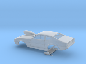1/64 Pro Mod Maverick W Sm Cowl Scoop in Smoothest Fine Detail Plastic