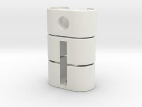 Stunt Package in White Natural Versatile Plastic