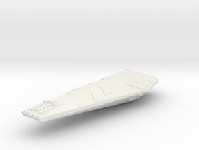 3788 Scale Hydran Lancer Destroyer GLP in White Natural Versatile Plastic