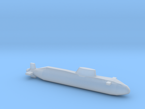 Astute-class SSN, Full Hull, 1/2400 in Smooth Fine Detail Plastic