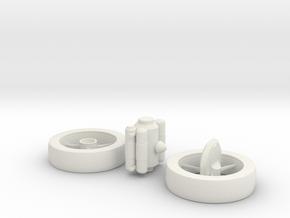 1/1000 Scale NASA Enterprise Concept in White Strong & Flexible