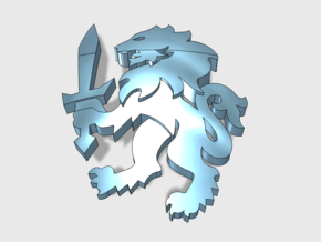 60x Sword Lion : Shoulder Insignia pack in Frosted Extreme Detail