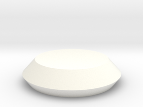 Closed Rubber Seal AR 023 in White Processed Versatile Plastic