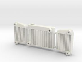 Intercooler 2 1/12 in White Natural Versatile Plastic