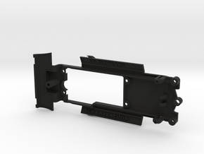 Chassis for SCX Plymouth Barracuda in Black Strong & Flexible