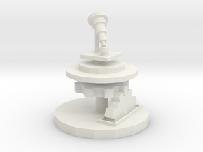 Wizards Telescope Platform in White Natural Versatile Plastic