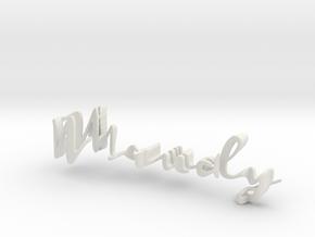 3dWordFlip: Maudy/Gijzen in White Strong & Flexible