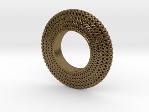 Fidget Spinner Honey Wire in Natural Bronze