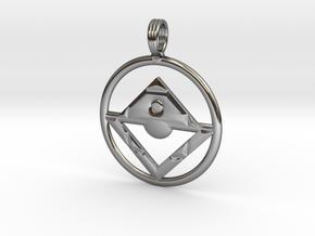 NATIVE SUNRISE in Premium Silver