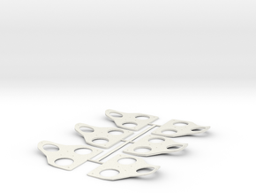 Spacer Pack for SPD-SL and Keo in White Natural Versatile Plastic