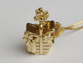 A Bee's Picnic in Polished Brass